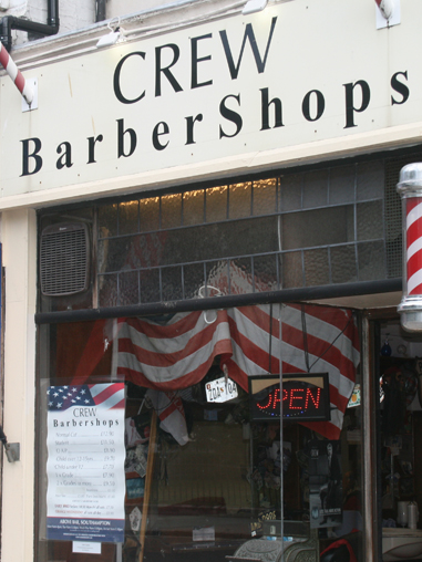 Crew Barber Shops outside