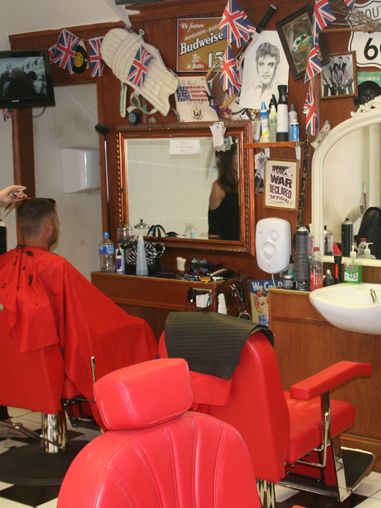 Crew Barber Shops haircut